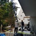 מרפסת תלויה בחיפה